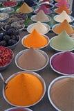 kolorowa przyprawy nubian wioski Zdjęcia Stock