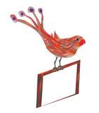 Kolorowa ptasia sztuka Fotografia Stock
