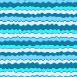 Kolorowa ręka rysujący bezszwowy wzór, denna tekstura ilustracja wektor