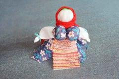 Kolorowa ręcznie robiony lala Zdjęcie Royalty Free