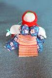 Kolorowa ręcznie robiony lala Zdjęcie Stock