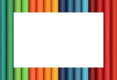 kolorowa rama Obraz Stock