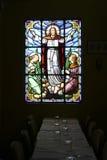 Kolorowa religijna mozaika Zdjęcia Royalty Free
