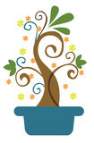 kolorowa roślina Obraz Royalty Free