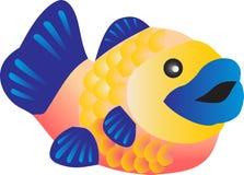 kolorowa ryb Ilustracji