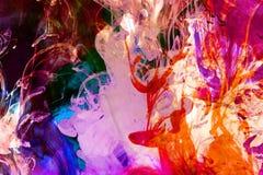 Kolorowa Rzadkopłynna Fuzja zdjęcia stock