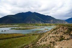 Kolorowa rzeka Obrazy Royalty Free
