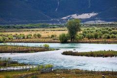 Kolorowa rzeka Obrazy Stock