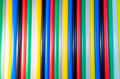 Kolorowa słoma Fotografia Stock
