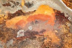 Kolorowa skała jako tło Zdjęcie Stock