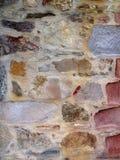Kolorowa skały ściana zdjęcia royalty free