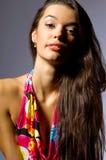 kolorowa smokingowa elegancka kobieta Fotografia Stock