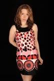 kolorowa smokingowa kobieta Zdjęcie Stock