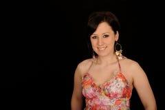 kolorowa smokingowa target937_0_ kobieta Zdjęcie Stock