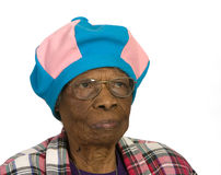kolorowa stara kobieta Obrazy Royalty Free