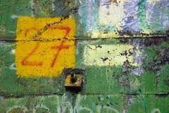 Kolorowa stara powierzchnia beton Obraz Royalty Free