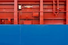 Kolorowa statek ściana Zdjęcie Stock