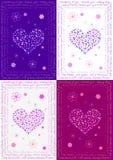 Kolorowa szczęście karta Zdjęcia Stock