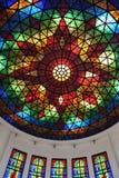 Kolorowa Szklana architektura zdjęcie stock