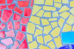 Kolorowa szklana mozaiki sztuka Fotografia Royalty Free