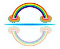 Kolorowa tęcza Zdjęcia Royalty Free