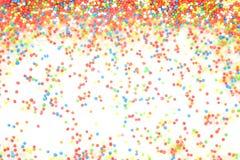 Kolorowa tęcza kropi backgroung zdjęcie royalty free