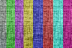 Kolorowa textured tkaniny tła sztuka zdjęcie stock