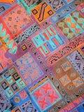 kolorowa tkanina Fotografia Royalty Free
