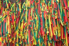 Kolorowa tkanina Zdjęcia Royalty Free