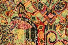 Kolorowa tkanina Fotografia Stock