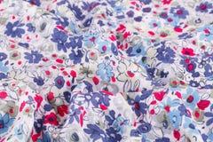 kolorowa tkaniny Fotografia Stock