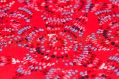 kolorowa tkaniny Obrazy Stock