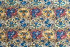 kolorowa tkaniny Obraz Royalty Free