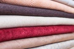 kolorowa tkaniny Zdjęcie Royalty Free