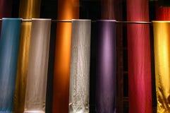 kolorowa tkaniny Obrazy Royalty Free