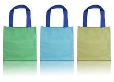 kolorowa torby bawełna Obrazy Royalty Free