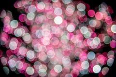 Kolorowa wakacyjna dekoracja - abstrakcjonistyczny Bożenarodzeniowy tło Zdjęcie Stock