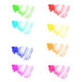 Kolorowa wektorowa akwarela Obraz Stock