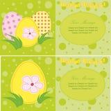 Kolorowa wektorowa Easter karta Zdjęcie Royalty Free