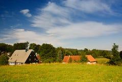 kolorowa wieś Fotografia Stock