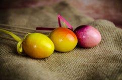Kolorowa Wielkanocnego jajka dekoracja Obrazy Stock