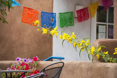Kolorowa witryna sklepowa w Santa Fe Obrazy Stock