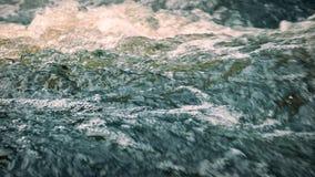 Kolorowa woda rzeczna zbiory wideo
