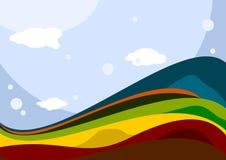 kolorowa ziemia Obrazy Royalty Free