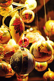 kolorowe świąteczne dekoracje Obraz Stock
