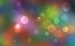 kolorowe światła Obrazy Royalty Free
