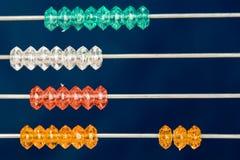 kolorowe abakus Zdjęcie Stock