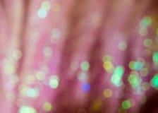Kolorowe błyskotliwość z bokeh skutkiem zdjęcia stock