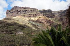 Kolorowe bazalt skały Obraz Royalty Free