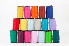 Kolorowe bobiny Zdjęcie Stock